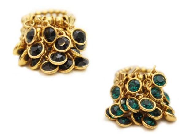 maxi-anel-chocalho-swarovski-verde esmeralda-preto