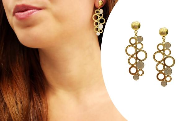 brinco+semi joia+ouro+banhado+folheado+anna raquel acessorios+bolhas