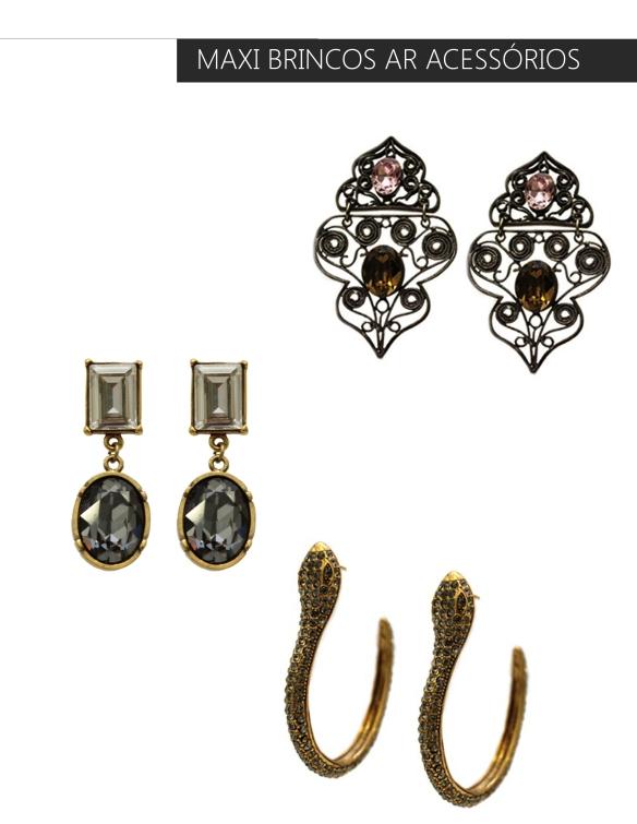 Maxi bricos+swarovski+bijuteria de luxo+anna raquel acessórios-como usar