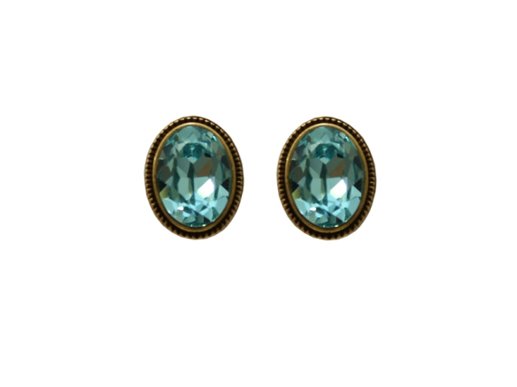 brinco+cristais+azul turqueza+pequeno+delicado+swarovski+dourado+biju de luxo+bijuteria fina+bijuteria de luxo+lolitas acessorios+anna raquel acessorios+acessorios femininos+l