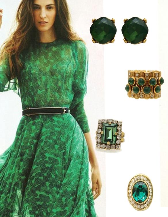 look pink verde esmeralda