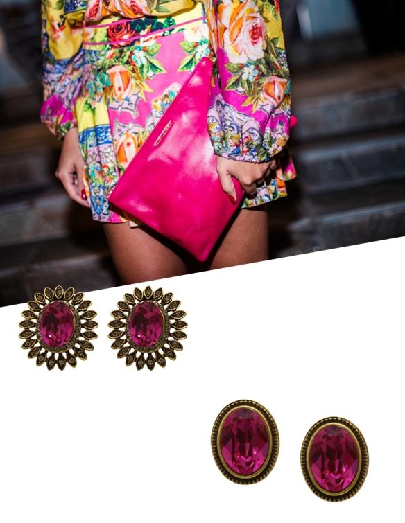 look pink+brinco+anna raquel acessorios